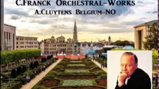 C.Franck Orchestral-Works [ A.Cluytens Belgium-NO ] (1962)
