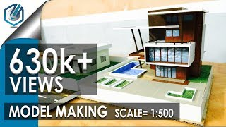 MODEL MAKING OF MODERN ARCHITECTURAL BUILDING thumbnail