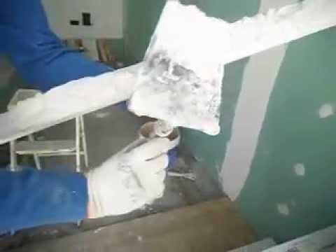 Como se coloca una moldura de escayola youtube - Molduras de escayola ...