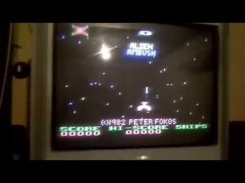ATARI 65XE -Alien Ambush-