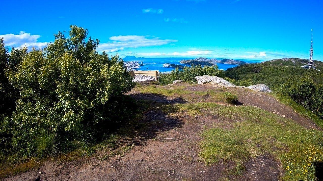 From Turisthytta to Pallvatnet in Bodø