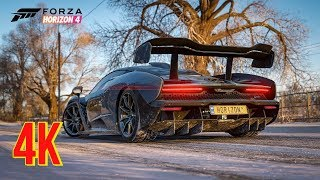 Forza Horizon 4 GTX 1080 Ti Max Settings 4k/60 PC Gameplay