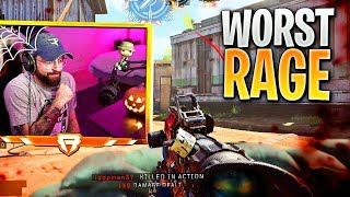 My sniping made this kid INSANELY ANGRY... (BO4 Rage & Funny Moments)
