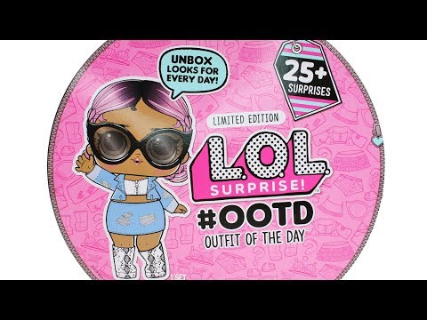 LOL Surprise #OOTD Advent Calendar Limited Edition 2018 Outfit of the Day Unboxing Toy Review thumbnail