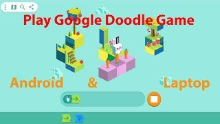 Popular Google Doodle Games/how To Play Google Doodle Game On Android Mobile Phone And Laptop