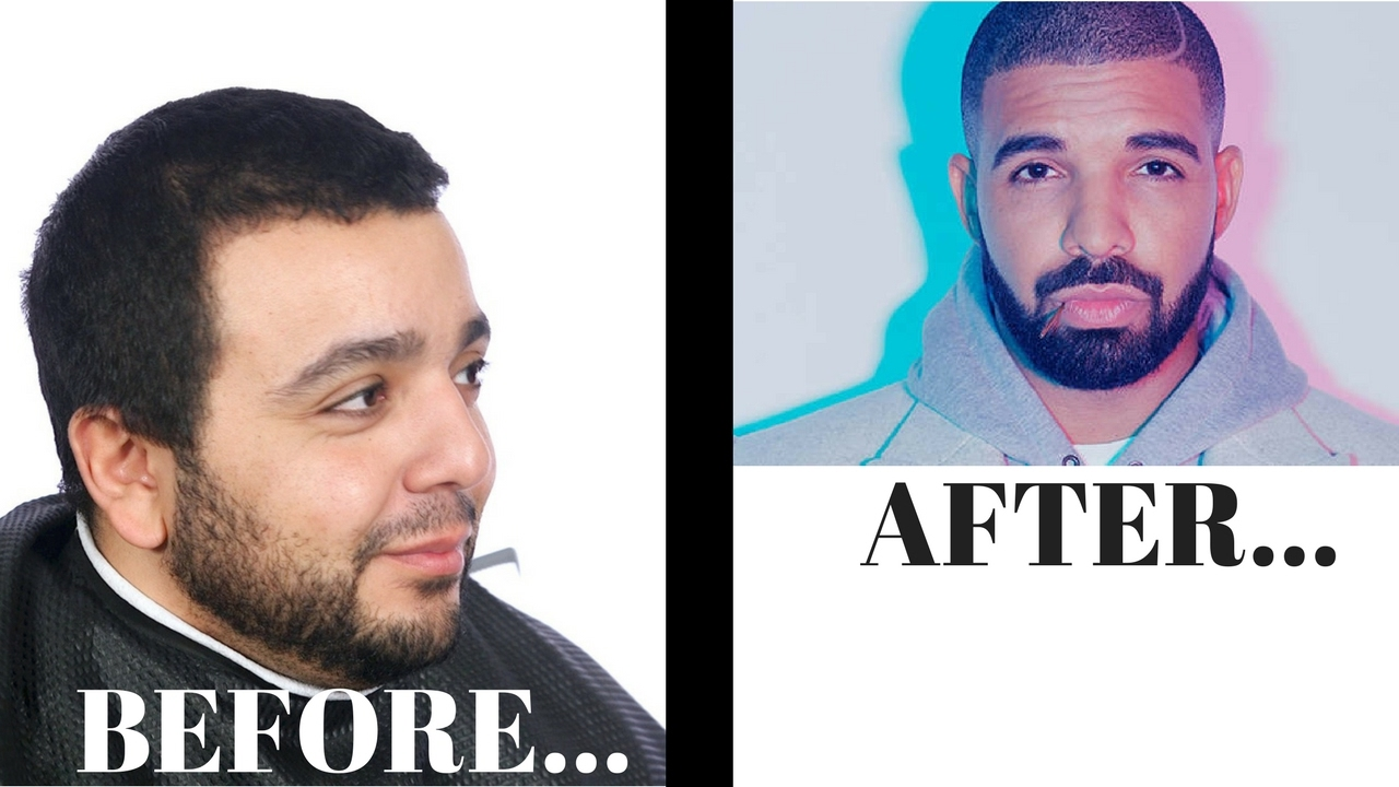 Walked In For A Haircut Left As Drake Thesalonguy Youtube