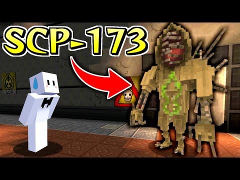 目を離すと殺される恐怖の『SCP-173』が収容違反した【マインクラフト】