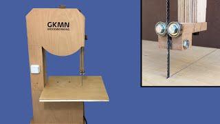 Building a Homemade Bandsaw // Büyük Boy Şerit Testere - Hızar Yapımı