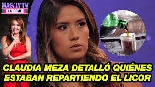 Claudia Meza revela el momento exacto en que sirvieron Jagger en la fiesta