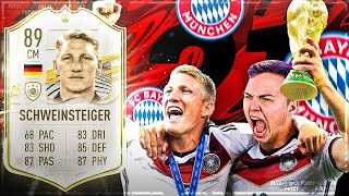 FIFA 21: ICON SCHWEINSTEIGER Squad Builder Battle 😍 Benji vs Steini Ultimate Team