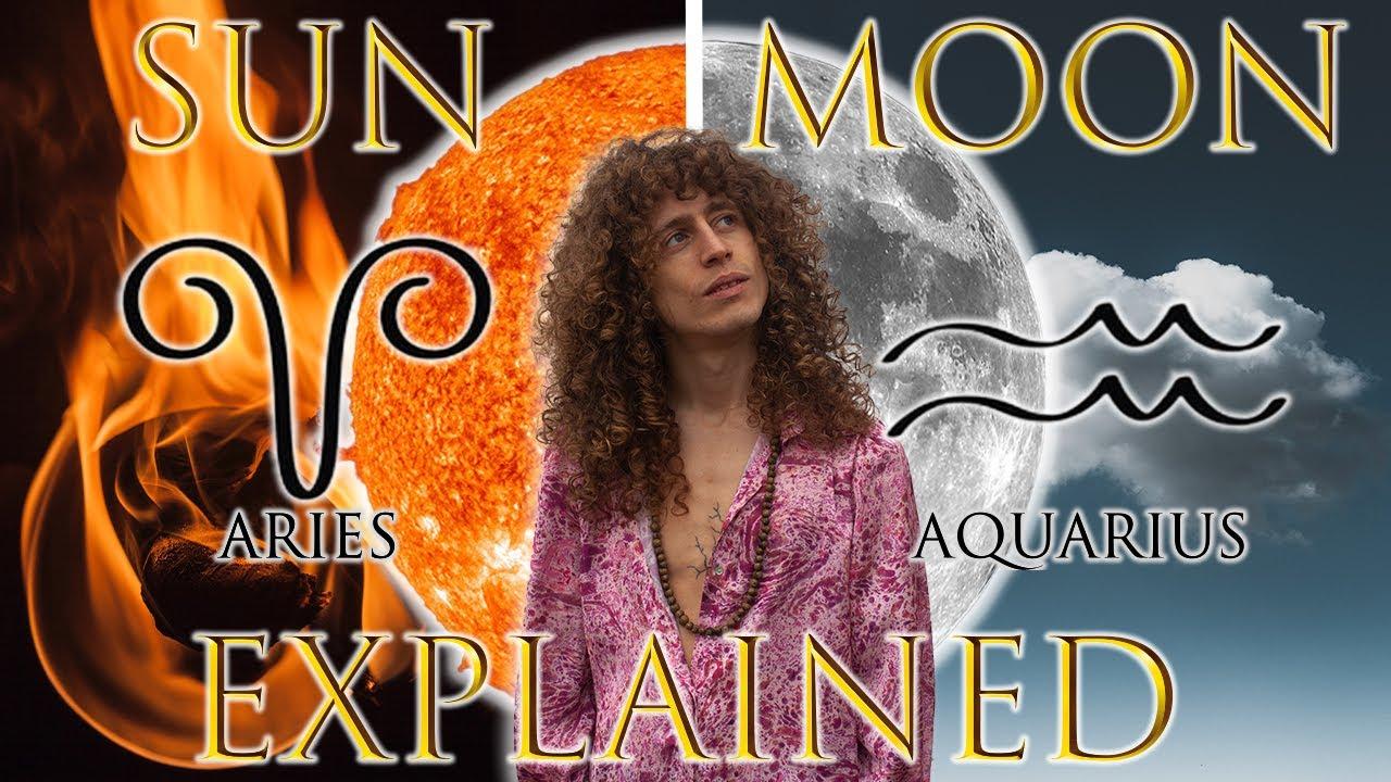 ☉ Sun in Aries ☽ Moon in Aquarius