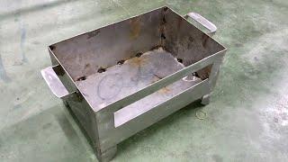 Cách làm lò nướng bằng than củi đơn giản nhất