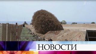 В Крыму, в районе аэродрома «Бельбек» обнаружена авиабомба времен Великой Отечественной.