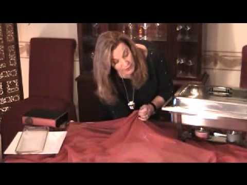 How To Set A Buffet Table Video By Barbara S Elegant Touch Wmv Youtube
