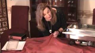 How To Set A Buffet Table Video By Barbara's Elegant Touch.wmv