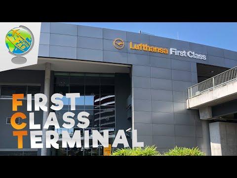 WORLD´S BEST FIRST CLASS LOUNGE | Lufthansa First Class Terminal Frankfurt