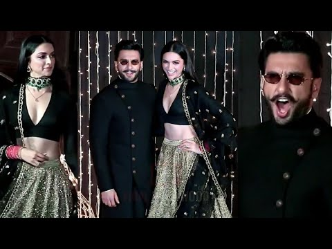 Power Couple Ranveer-Deepika POWERFUL Entry At Priyana-Nick Jonas Wedding Reception