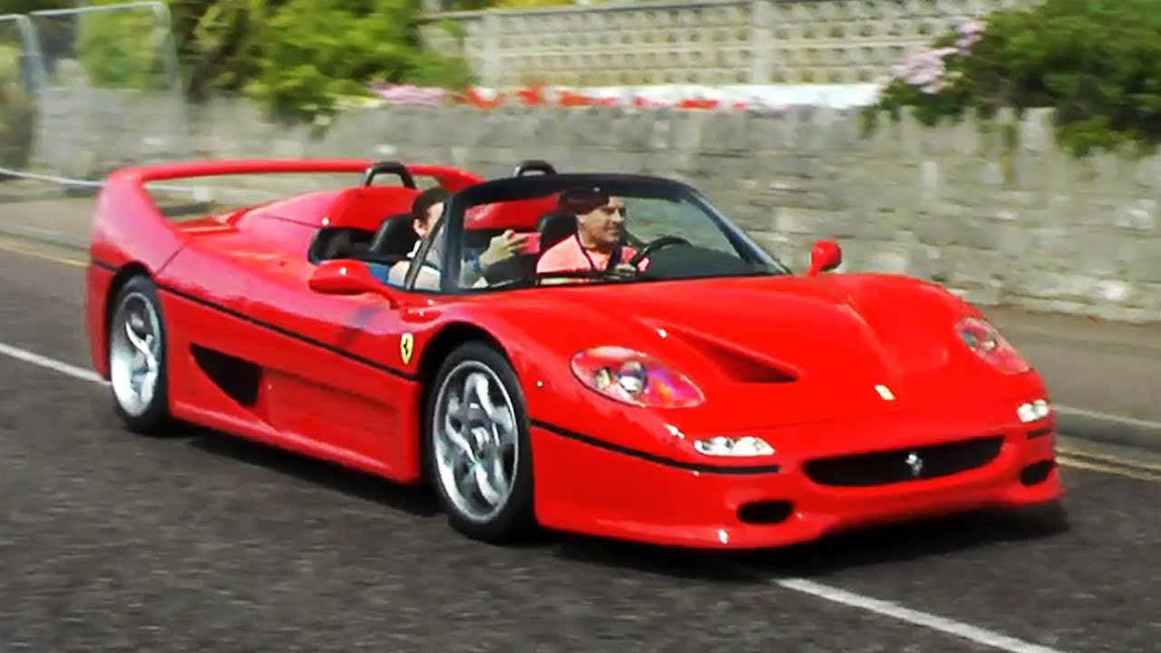 Ferrari f50 lovely sounds and accelerations youtube ferrari f50 lovely sounds and accelerations vanachro Image collections