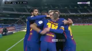 HASIL PERTANDINGAN TADI MALAM Real Sociedad vs Barcelona 2 4 All Goals & Highlights 14 01 2018 HD