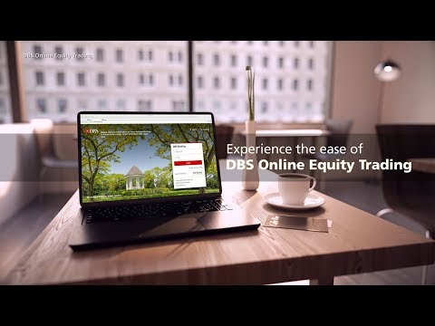 Experience the ease of DBS Online Equity Trading