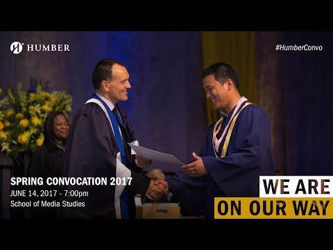 Spring Convocation 2017 - School of Media Studies