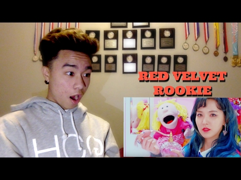 First Time Reacting to KPOP (Red Velvet - Rookie)