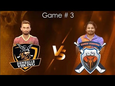 Match 03| Kandy Tuskers VS Dambulla Viikings | LPL2020 #DV #KT