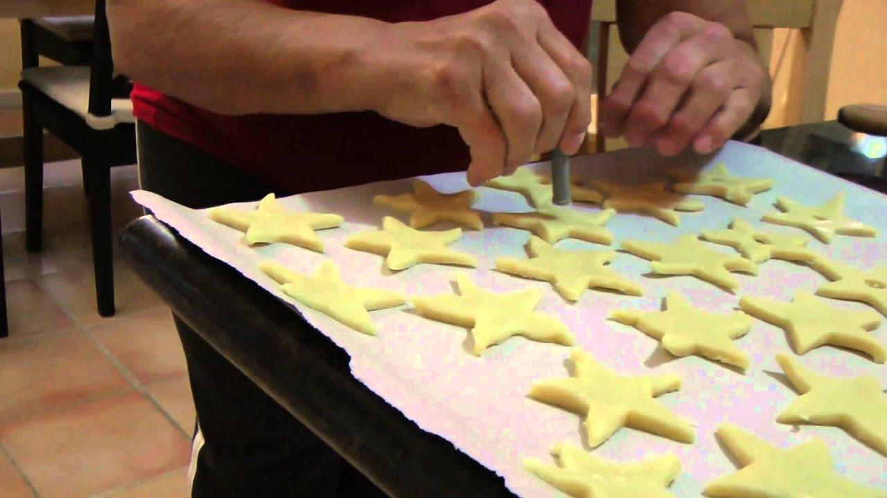 Butter Cookies Hviezdicky Recipe Czech Christmas Treat
