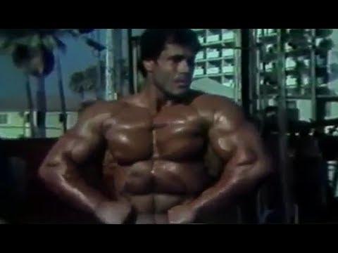 Franco Columbu Training for Mr. Olympia 1981