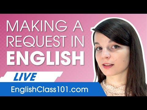 How to Make Requests and Offers in English - Basic Phrases
