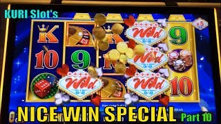 ★NICE WIN★KURI Slot's Special Feature Part 10 ★☆5 of Slot machine games win☆$1.80~$3.00 Bet 栗スロット☆彡