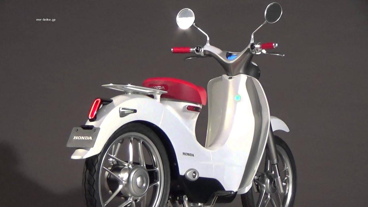 Honda EV Cub WEB Mr. Bike - YouTube
