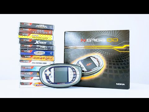 Nokia N-Gage – 2003 Gaming Phone!