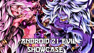 ** ANDROID 21 IS AMAZING! ANDROID 21: EVIL SHOWCASE! 700% * || ** Dragon Ball Legends *