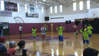 Diwali Function @Rutgers Prep School: Bhangara Dance