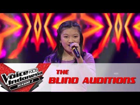 "Kezia ""Malibu"" | The Blind Auditions | The Voice Kids Indonesia Season 2 GTV 2017"