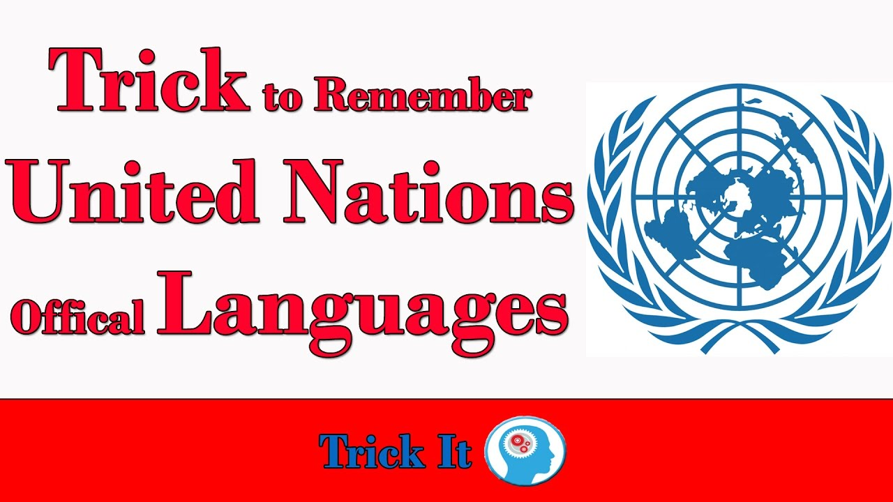 Trick to Remember United Nations Official Languages | SSC, CDS, NDA, IAS