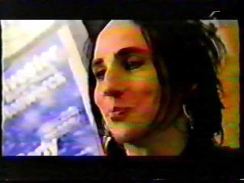 Backyard Babies - Dregen interview on Swedish TV show Bambala 1998