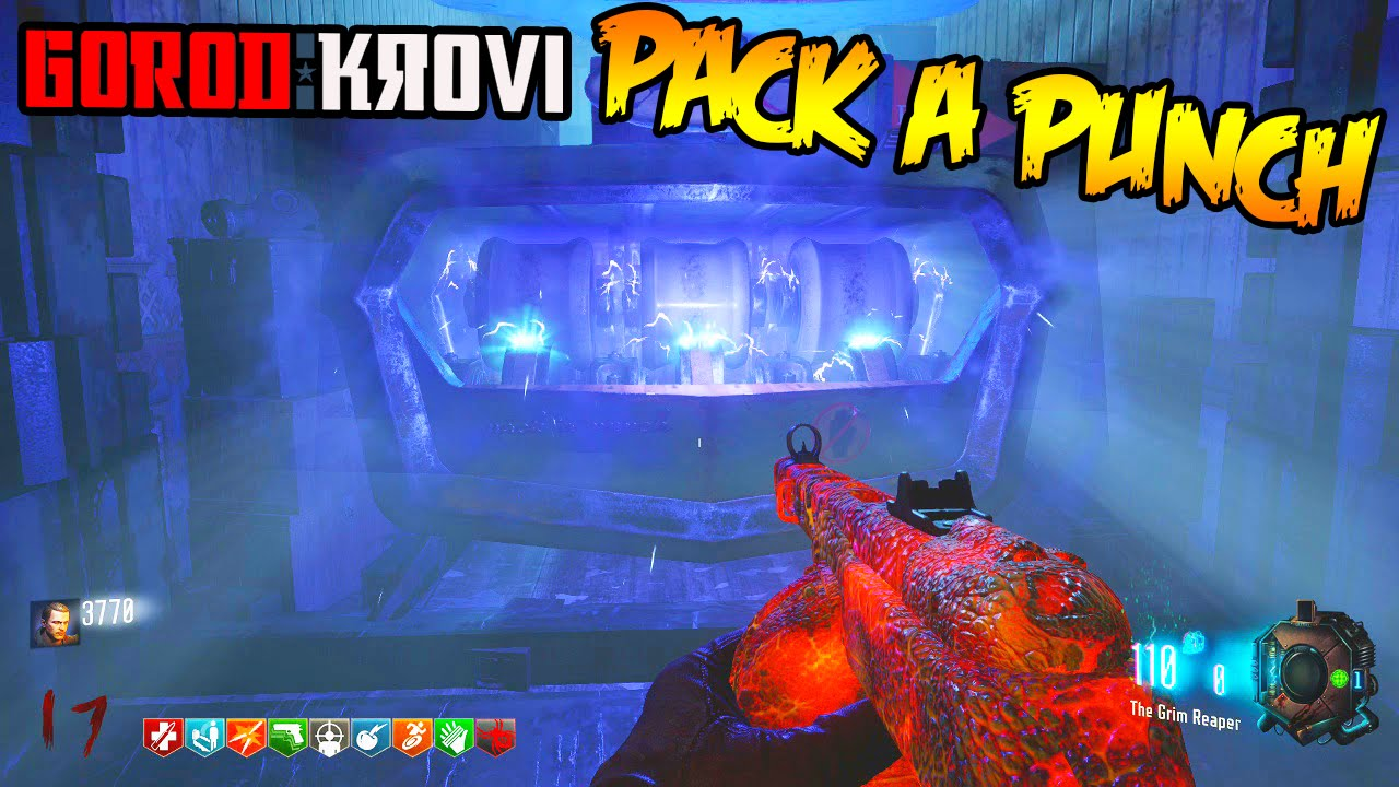 Black Ops 3 Zombies Gorod Krovi How To Pack A Punch Guide Tutorial