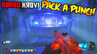"BLACK OPS 3 ZOMBIES ""GOROD KROVI"" HOW TO PACK A PUNCH GUIDE TUTORIAL! (BO3 Zombies DLC 3)"