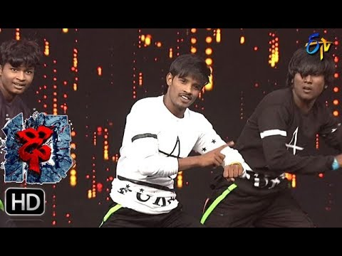 Raju Performance | Dhee 10 | 9th August 2017| ETV Telugu