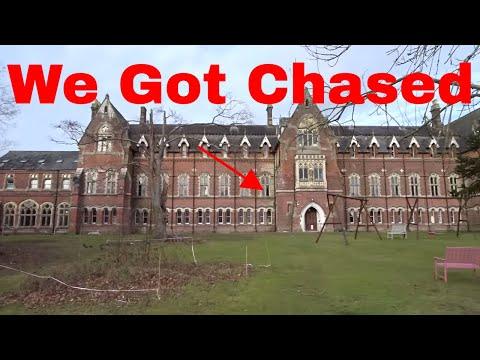 "Urban Exploring Chased Inside Abandoned Haunted ""Extreme"" School Gone wrong (WARNING)"