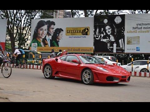 Attrayant Super Sport Car Race In Bangladesh Dhaka Road