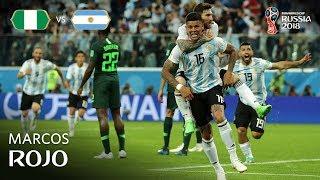 Marcos ROJO Goal - Nigeria v Argentina MATCH 39