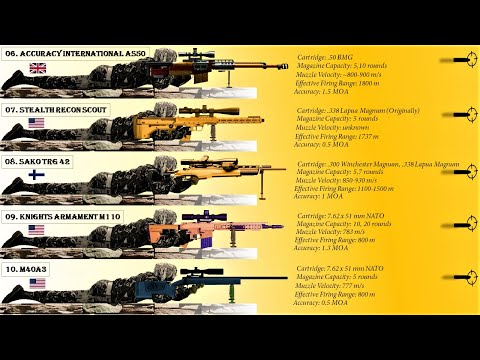 Top 10 Most Powerful Sniper Rifles in the world (2020)
