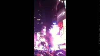 New Years Eve Countdown in Times Square New York City (Echilon Media)
