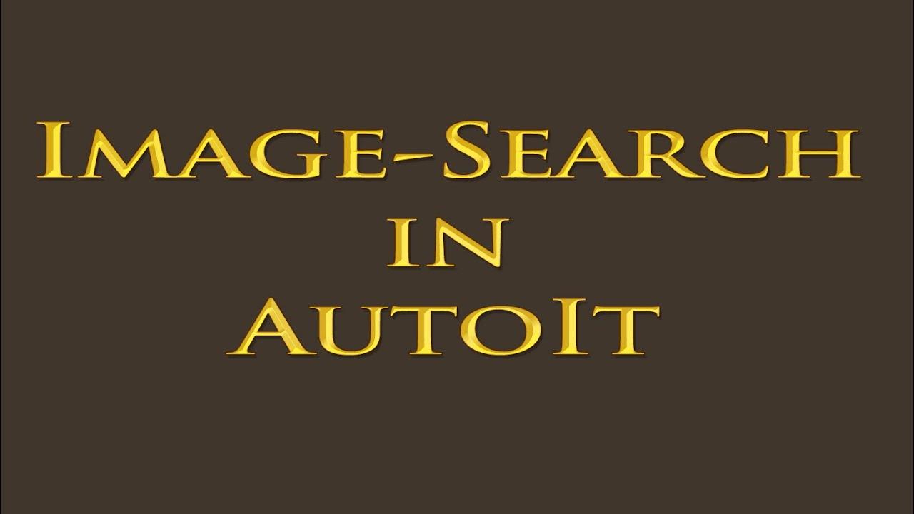 Autoit ImageSearch