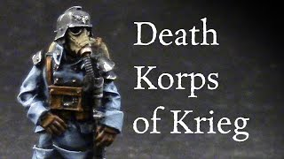 How to paint Death Korps of Krieg troopers