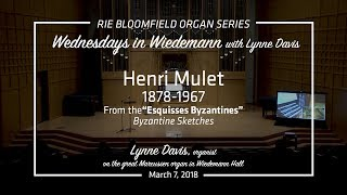 Wednesdays in Wiedemann with Lynne Davis - March 7, 2018