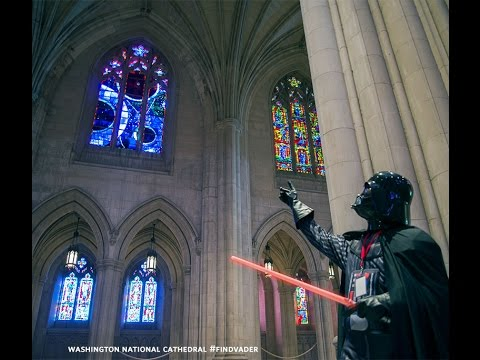 darth vader at washington national cathedral youtube